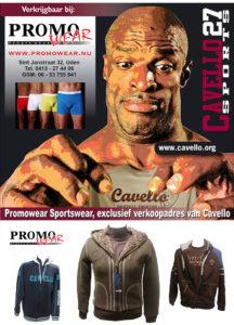 advertentie promowear Cavello