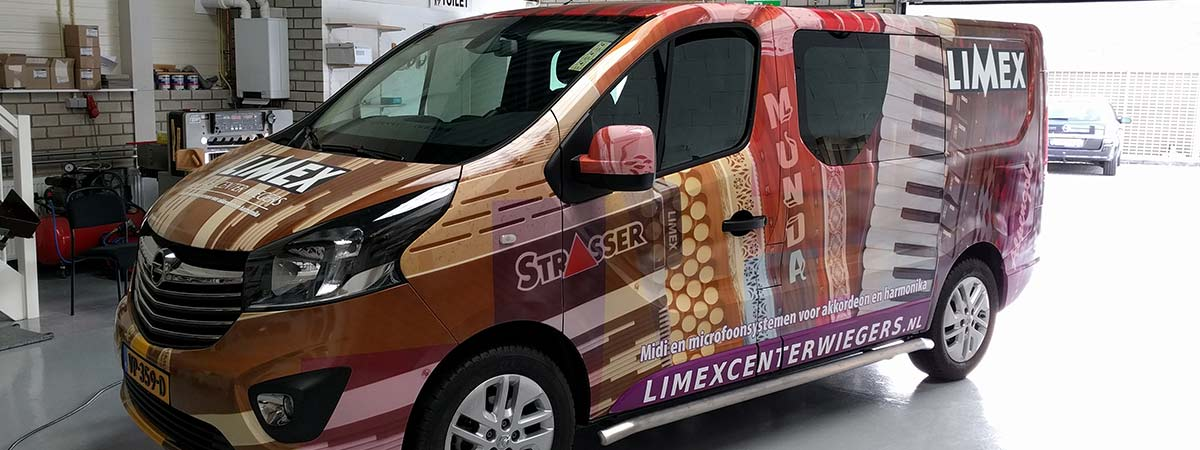 Carwrapping Limex Center Wiegers Oss