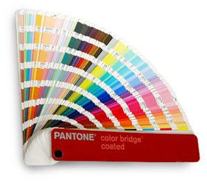 pantone kleuren waaier