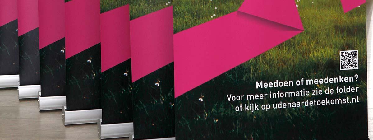 Roll-up banners incl. draagtas en print