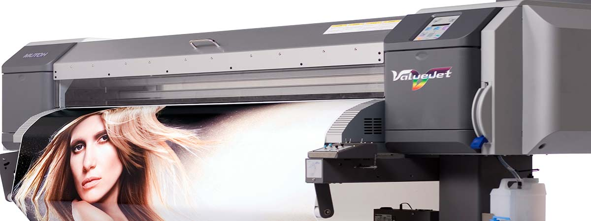 Mutoh Valuejet 1614 eco-solvent printer
