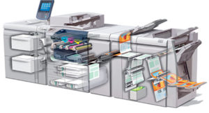 Xerox Versant 80 digitale pers binnenzijde