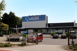 gevelbelettering freesletters Volker Wessels Telecom Uden