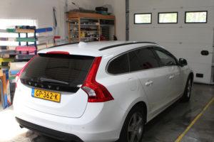 raamblindering Volvo
